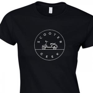 Women's Scooter Geek T-shirt